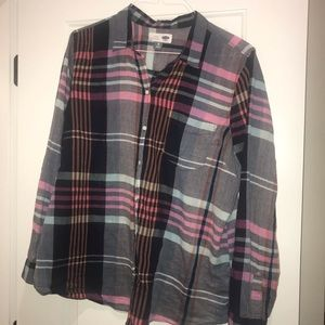 Old navy plaid large